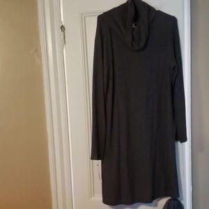Sonoma XL Heather Gray Sweater Dress